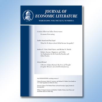 Journal of Economic Literature cover
